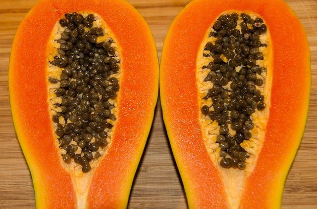 červená papaya