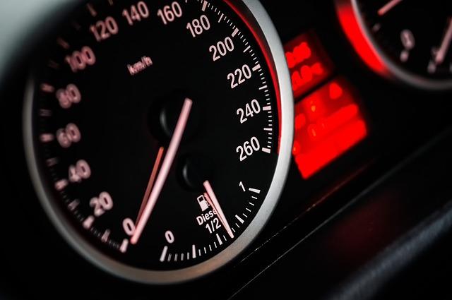 ukazatel rychlosti