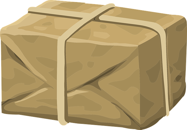 zabalený balík
