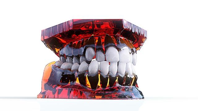 3d model čelisti